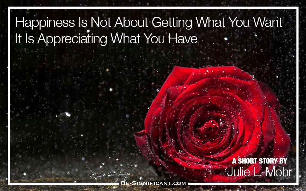 Happiness is Not About Getting What You Want — It Is Appreciating What You Have